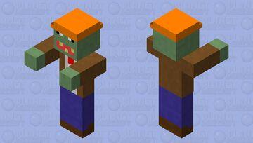 PVZ cone-head zombie Minecraft Mob Skin