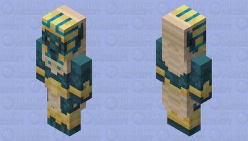 Anubite Necromancer Minecraft Mob Skin