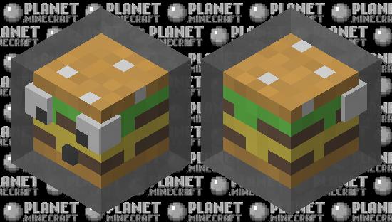 Slimey burger Minecraft Skin