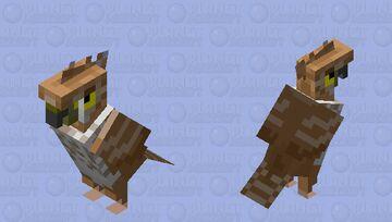 Hawk Minecraft Mob Skin