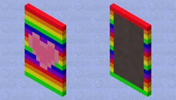 Pride Capes! #1 ~Gay pride Minecraft Mob Skin