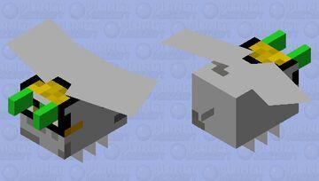 Baby Yoda's Little Flying Pod Minecraft Mob Skin