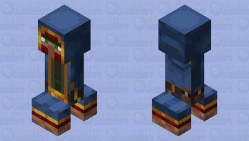Wandering Trader Creeper Minecraft Mob Skin