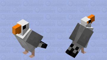 Seagull Minecraft Mob Skin
