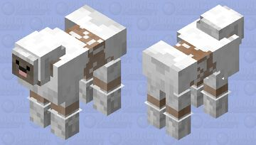 French sheepPoodle sheep Minecraft Mob Skin