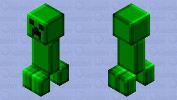 Better Plastic Creeper Minecraft Mob Skin