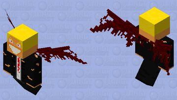 The devil (modern) Minecraft Mob Skin