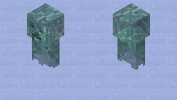Soul of a Creeper Minecraft Mob Skin