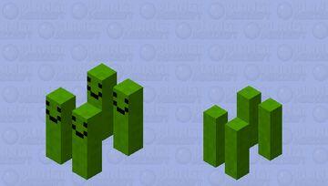 Pickle army Minecraft Mob Skin