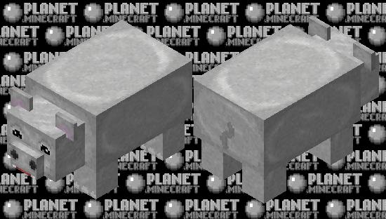 Happy Hippo Minecraft Skin
