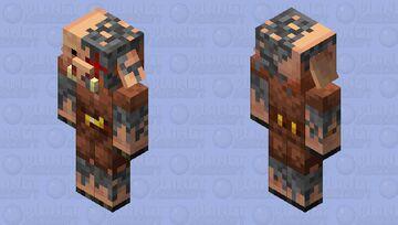 Corrupted Piglin Minecraft Mob Skin