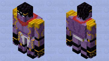 「Star Platinum」 Minecraft Mob Skin
