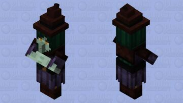 Classic Witch look Minecraft Mob Skin