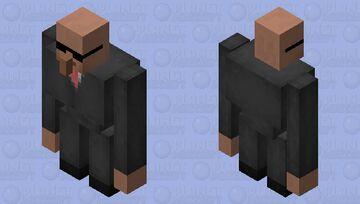 Villager Bodyguard Minecraft Mob Skin