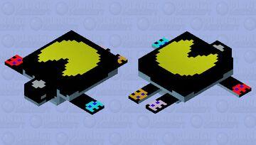 Pac-Man Turtle Minecraft Mob Skin