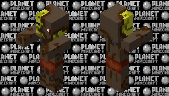 Netherite Pigman Minecraft Skin