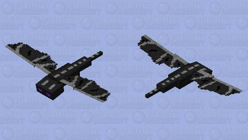 Young Ender Dragon Minecraft Mob Skin
