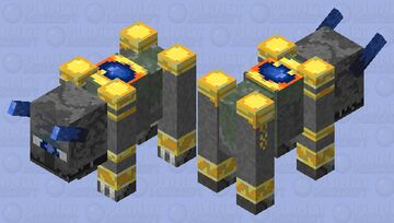 Stone Sentinel Minecraft Mob Skin
