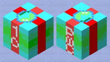 Planet Minecraft 10th anniversary birthday gift Minecraft Mob Skin