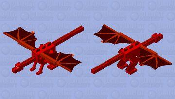 Devil Dragon Minecraft Mob Skin