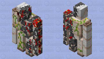 Corrupted Iron Golem Minecraft Mob Skin