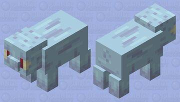 Pigward - Spongebob Squarepants - Squidward - Pig Redo - poppy reel Minecraft Mob Skin