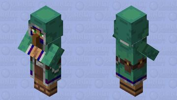 alt wandering villager Minecraft Mob Skin