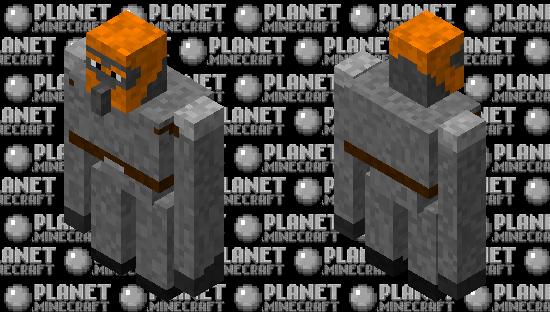 Fire Giant Minecraft Skin