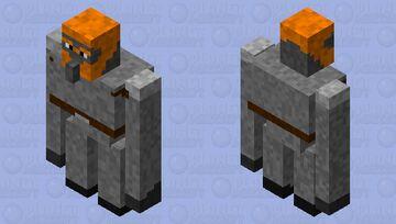 Fire Giant Minecraft Mob Skin