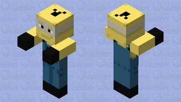 Minion Zombie Pigman Minecraft Mob Skin