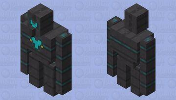 Soulfire Golem Minecraft Mob Skin