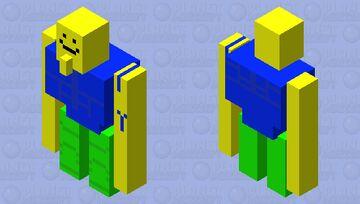 Roblox Buff Noob Minecraft Mob Skin