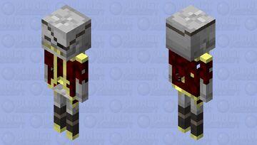 Skeleton pirate 2 Minecraft Mob Skin