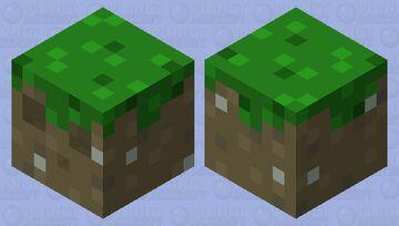 Sli~ I mean Grass block Minecraft Mob Skin