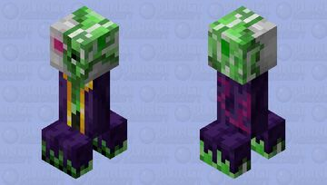 Creeper Necromancer Minecraft Mob Skin