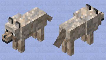 Kurī/Polynesian Dog Minecraft Mob Skin