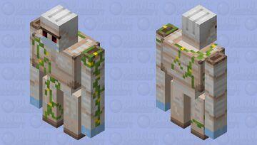 golem with mask! Minecraft Mob Skin