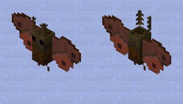 Emperor Moth Minecraft Mob Skin