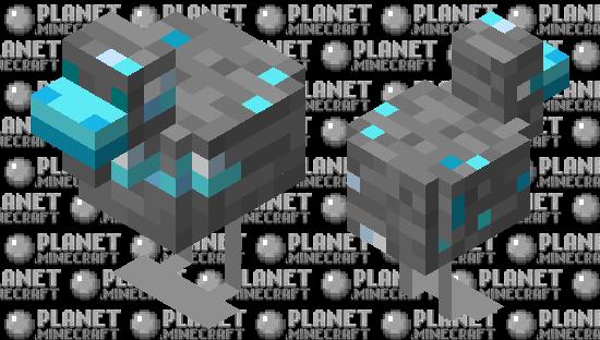 Diamond Ore Chicken Minecraft Skin