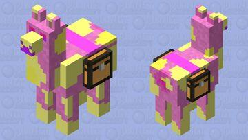 Cotton Llama! Minecraft Mob Skin