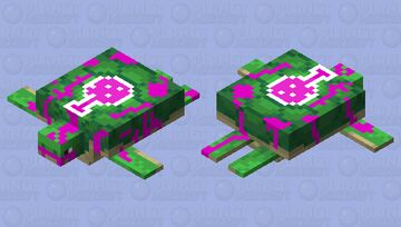 Turtle that has destroyed a laboratory Minecraft Mob Skin