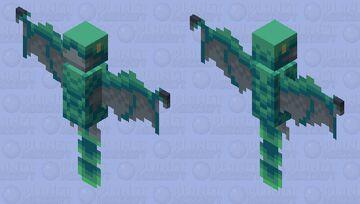 [Dino] The Batty Yi Qi Minecraft Mob Skin
