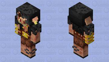 Piglin Brute: Updated 3 Minecraft Mob Skin