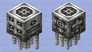 The marble head with many faces Minecraft Mob Skin