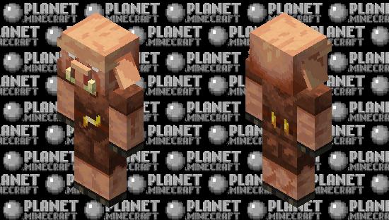 Piglin (realistic/remade/HD) Minecraft Skin