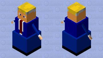 Trump 2020 snowman Minecraft Mob Skin