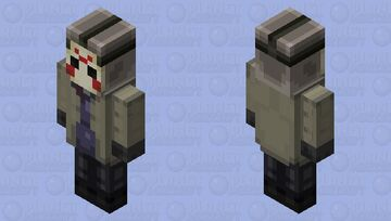 Jason Voorhees Vindicator (MC mobs re-imagined contest entry) Minecraft Mob Skin
