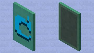Blue Whatever This Is Cape Minecraft Mob Skin