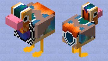 Mandarin Duck | 30 subs special Minecraft Mob Skin