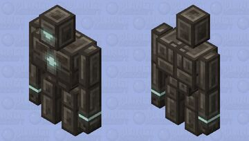 Polished Andesite Golem: Winterhaven Beasts and Baddies Minecraft Mob Skin